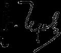 Anton Chekhov signature.png