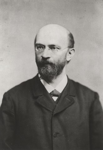 Anton Menger - Anton Menger, circa 1890, photographed by Josef Löwy
