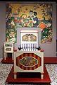 Antonio rubino, camera da bambino, industria veneziana di mobili laccati, 1924 circa, tela il bambino buono 01 letto.jpg