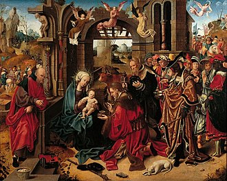 Antwerp Mannerism - Adoration of the Magi by Anonymous Antwerp Mannerist