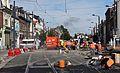 Anzin & Valenciennes - Travaux de raccordement des lignes A & B du tramway de Valenciennes à la Croix d'Anzin le 13 août 2013 (08).JPG