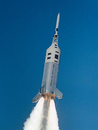 Little Joe II - Launch of Apollo A-002 escape system test on the third Little Joe II