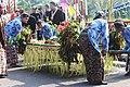 Arak-arakan hasil desa dan tumpeng, Merti Desa Sleman Yogyakarta 11292015.jpg
