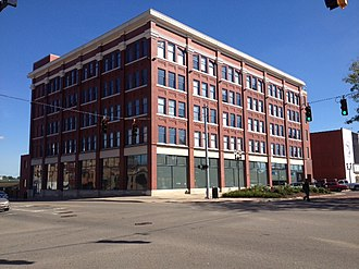 National Register of Historic Places listings in Ingham County, Michigan - Image: Arbaugh Department Store