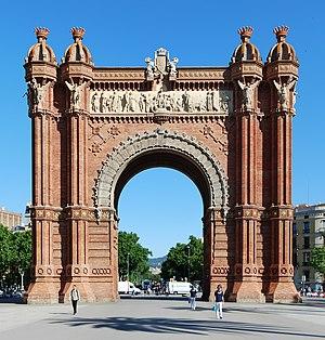 Arc de Triomf - Image: Arc de Triomf Barcelona 2013