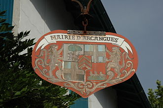 Arcangues - The Arms of Arcangues