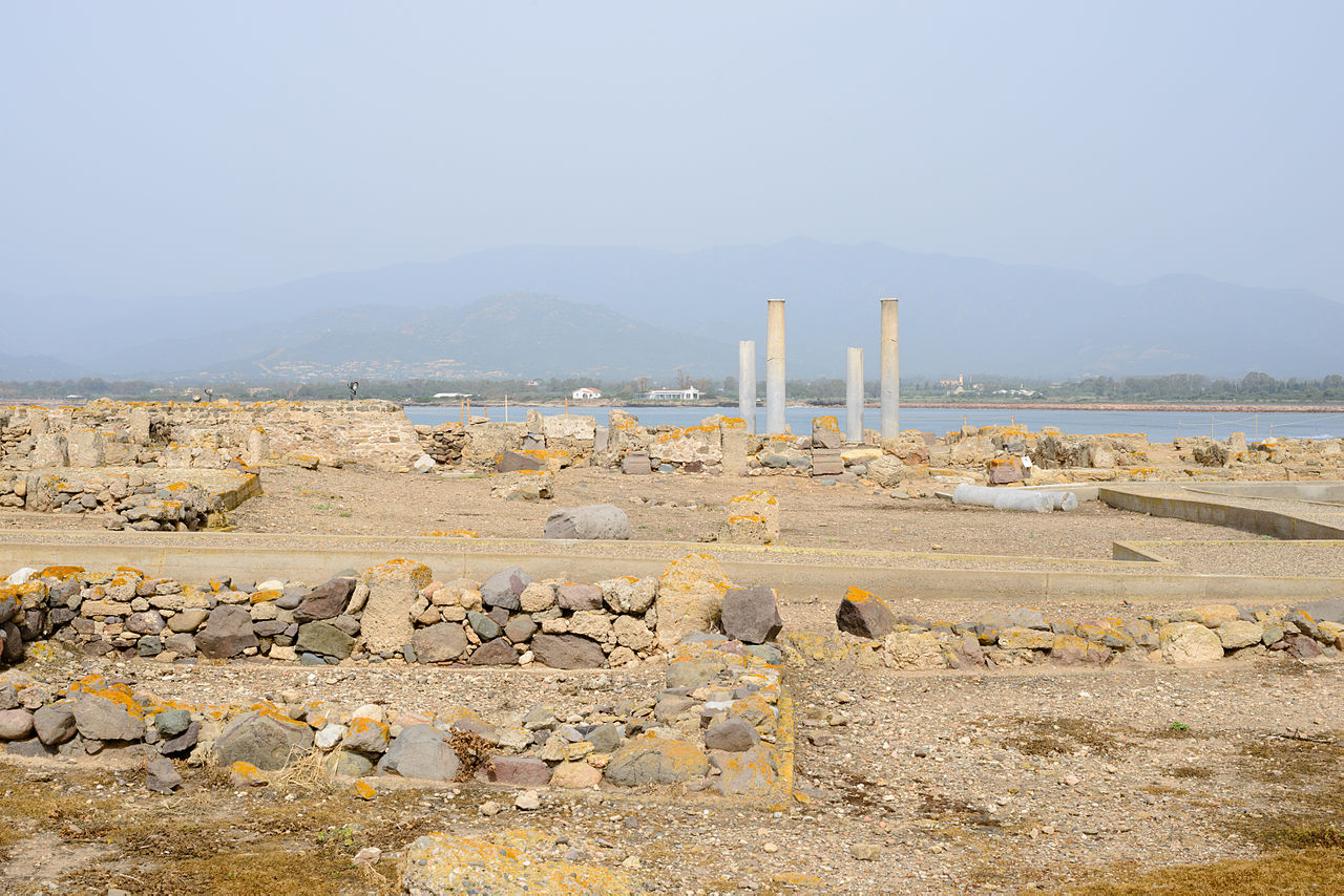 Pula Italy  City new picture : Archaeological site Nora Pula Sardinia Italy 24