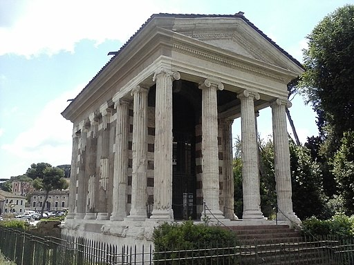 Temple of Fortuna Virilis, Wikimedia Commons