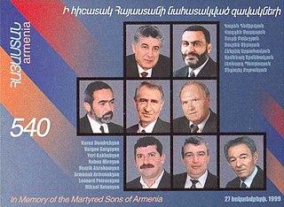 1999 Armenian parliament shooting