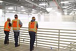 Army Corps tests fire response system as F-35 hangar nears completion (26007253376).jpg