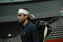 Arnaud Clément at the 2008 Masters France 3.jpg