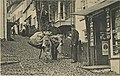 Arrival of H.M. Mail at Clovelly, at the postal telegraph office, which sold postcards (NBY 18974).jpg