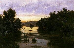 Francesco Lojacono - Le paludi, 1895-1900 (Fondazione Cariplo)
