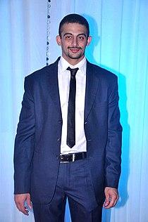 Arunoday Singh at Esha Deol's wedding reception 05.jpg
