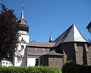Arzfeld - Image: Arzfeld Pfarrkirche 1 Bubo