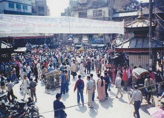 Asan, Kathmandu (northeast view)