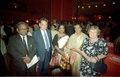 Ashesh Prasad Mitra - Paul Jozef Crutzen - Mrs Mitra - Guest - Terttu Soininen - Convention Centre Inaugural Ceremony - Science City - Calcutta 1996-12-21 116.tif