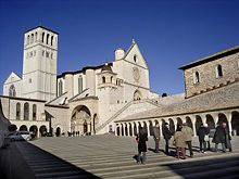 Basilica de São Francisco, em Assis.