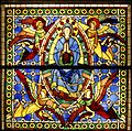 Assumption of Mary - Duccio's rose window - Museo dell'Opera del Duomo - Siena 2016.jpg