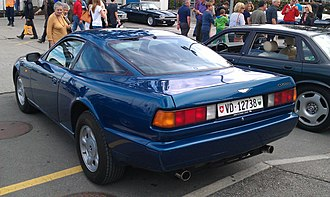 Aston Martin Virage - Rear 3/4 view of Virage