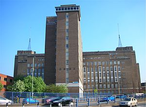 Clinton Bennett - Main Building, Aston University where Bennett was Free Church Chaplain 1986-7