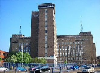Clinton Bennett - Main Building, Aston University where Bennett was Free Church Chaplain 1986-7