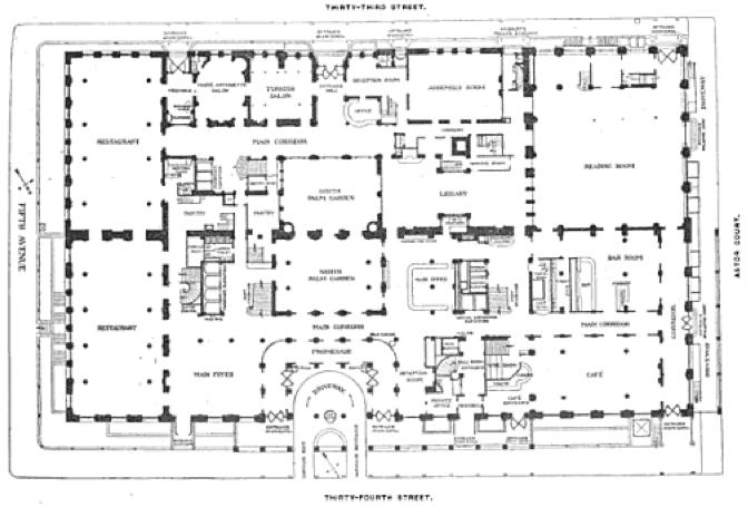 Waldorf Astoria 1893 1929 Howling Pixel