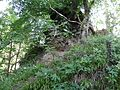 Auchinleck Castle, ashlar wall.jpg