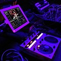 Audiovisual gearporn #av #edm #gear #shadowtravel #tour #trap #purple #pioneer #ipad #vjay #staybrite #atergram from last night (by j bizzie) 2014-06-04.jpg