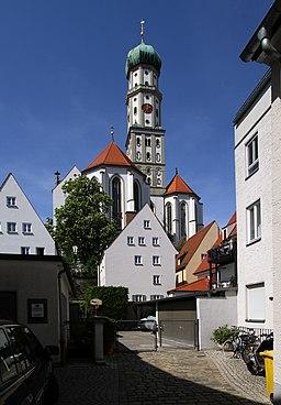 Zwerchgasse in Augsburg