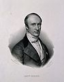 Augstin Louis, Baron Cauchy. Lithograph by Z. Belliard after Wellcome V0001035.jpg