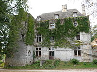 Auriac-du-Périgord Faye château façade nord.JPG