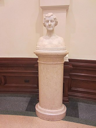 Enrico Cerracchio - Bust of Governor Miriam A. Ferguson.