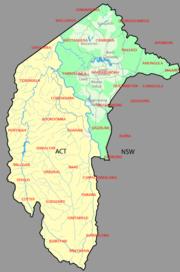 Australian Capital Territory parishes