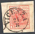 Austria Lombardy-Venetia 1854 VICENZA.jpg