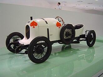 Austro-Daimler Sascha - Austro-Daimler Sascha in the Porsche Museum in Stuttgart
