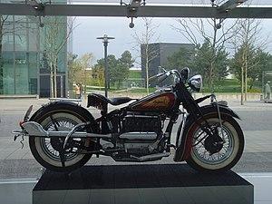 Indian Four - Image: Autostadt Wolfsburg motorrad ikonen Indian 1 Flickr Klaus Nahr