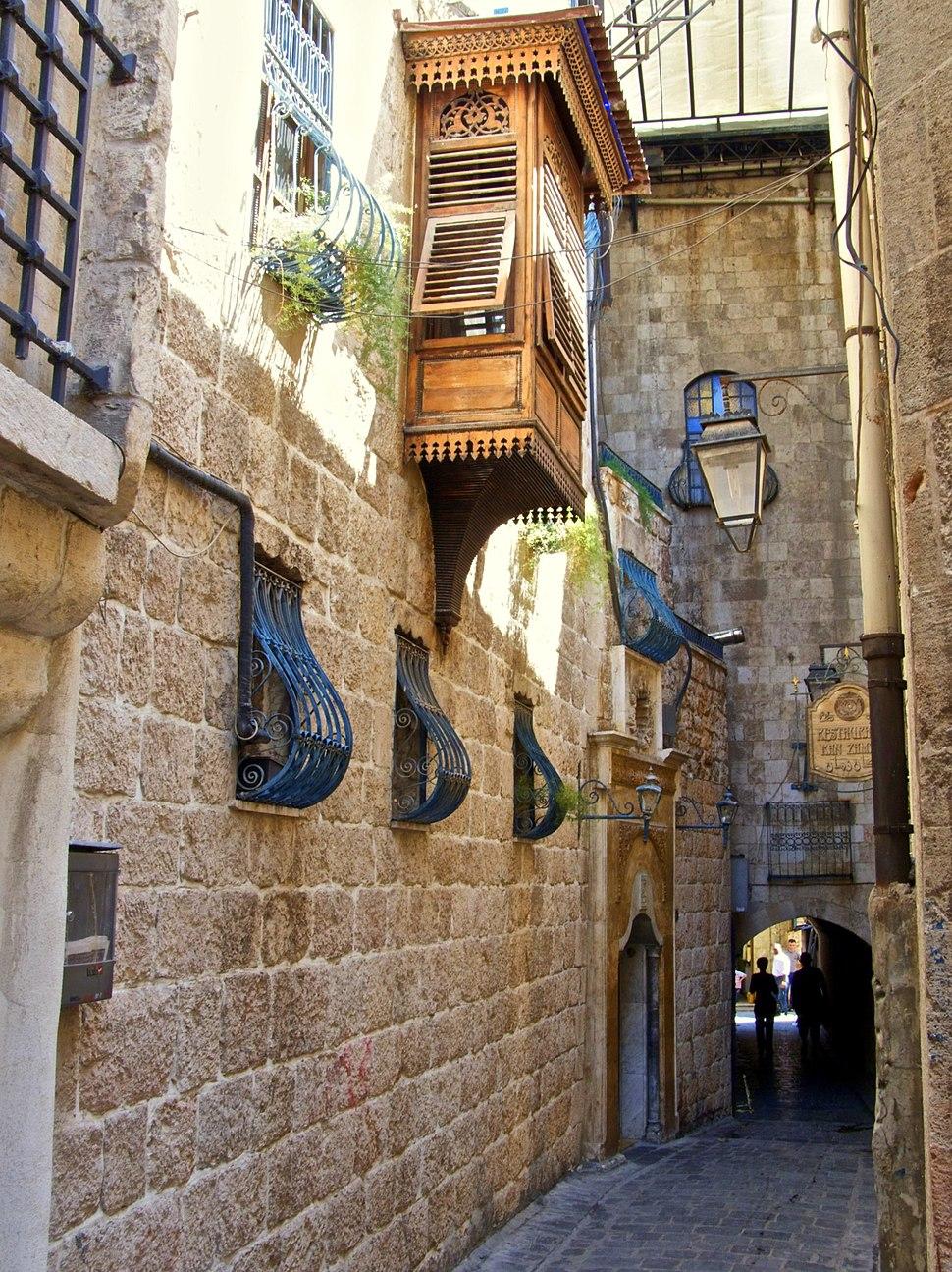 Ayda alley, Aleppo Christian Quarter (01)