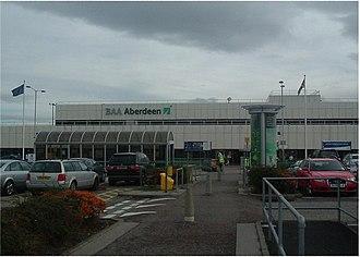 Transport in Aberdeen - Aberdeen Airport terminal building
