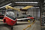 BAC Jet Provost and Meteor at Yorkshire Air Museum (8295).jpg