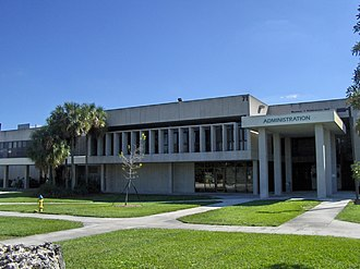 Broward County, Florida - Broward College South Campus administration building