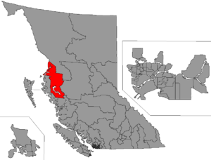 Skeena (provincial electoral district) - Image: BC 2015 Skeena