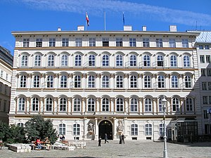 Federal Ministry for Europe, Integration and Foreign Affairs - Foreign Ministry building on Minoritenplatz, Vienna