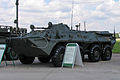BTR-80 with program-technical system at Engineering Technologies 2012.jpg