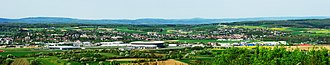 Sinsheim - Panoramic view