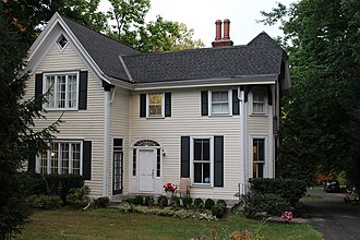 National Register of Historic Places listings in Albany County, New York - Image: Bacon Stickney House