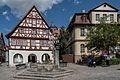 Bad Windsheim, Pfarrgasse 2, Kornmarkt 7-20160821-001.jpg