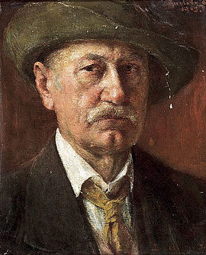 Ottó Baditz - Self-portrait (1913)