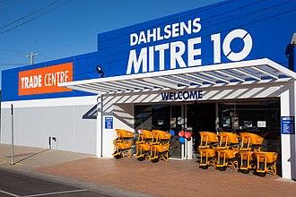 Mitre 10 - Image: Bairnsdale Dahlsens M10 3341