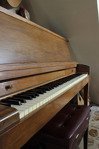 Baldwin Piano Company - A Baldwin Hamilton manufactured in 1968.